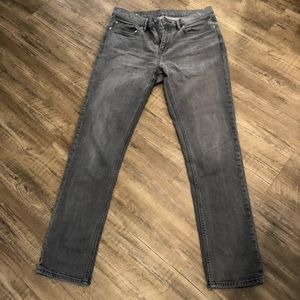 Banana Republic slim fit gray denim